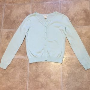 NWOT Mint Green Cardigan